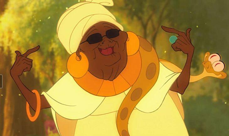 Mamma Odie de Tiana y el sapo