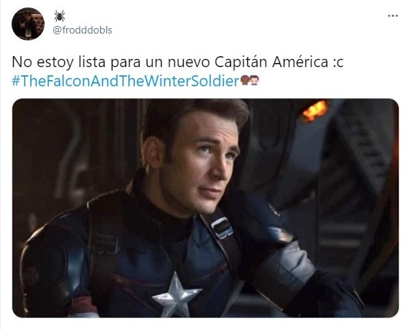 Tuit de reacción al nuevo Capitán América de Marvel