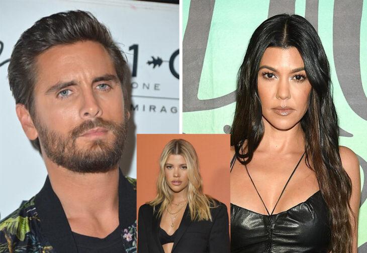 Triángulo amoroso entre Scott Disick, Kourtney Kardashian y Sofia Richie