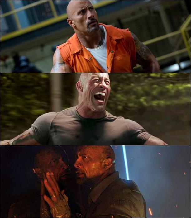 "escenas de películas con Dwayne ""The Rock"" Johnson"