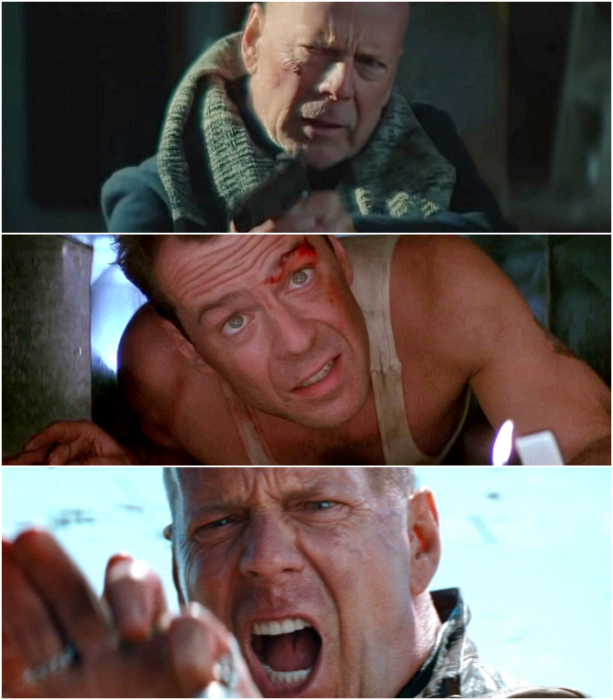 escenas de películas con Bruce Willis