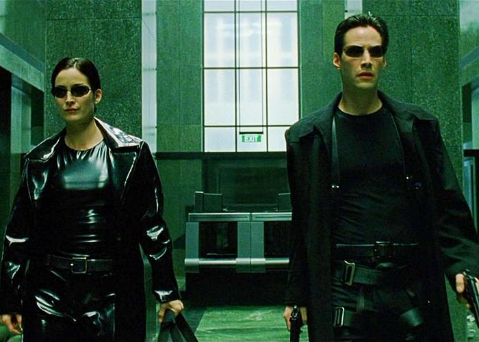 """escena de la película """"Matrix"""""""