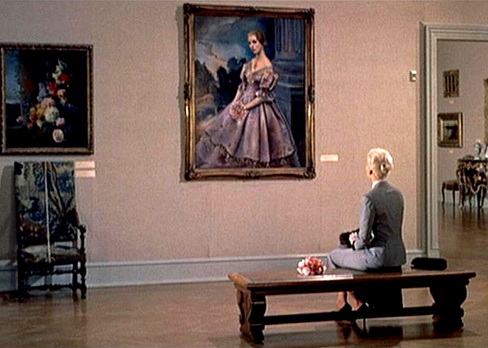 "escena de la película ""Vértigo"""