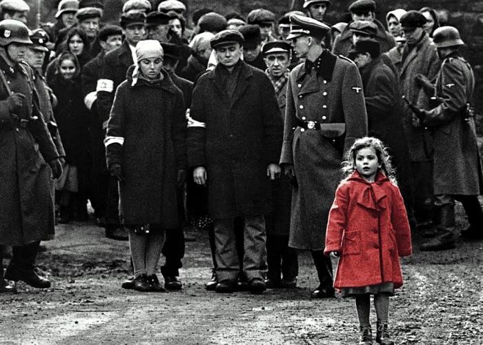 """escena de la película """"La lista de Schindler"""""""