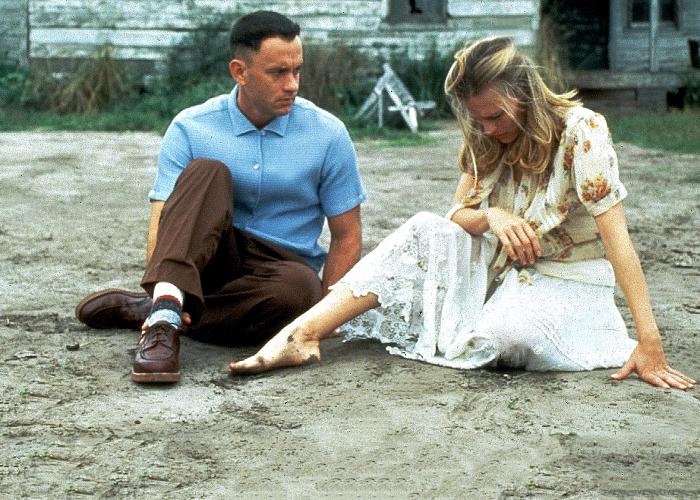 """escena de la película """"Forrest Gump"""""""