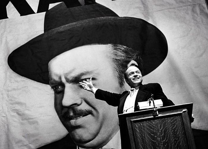 """escena de la película """"Ciudadano Kane"""""""