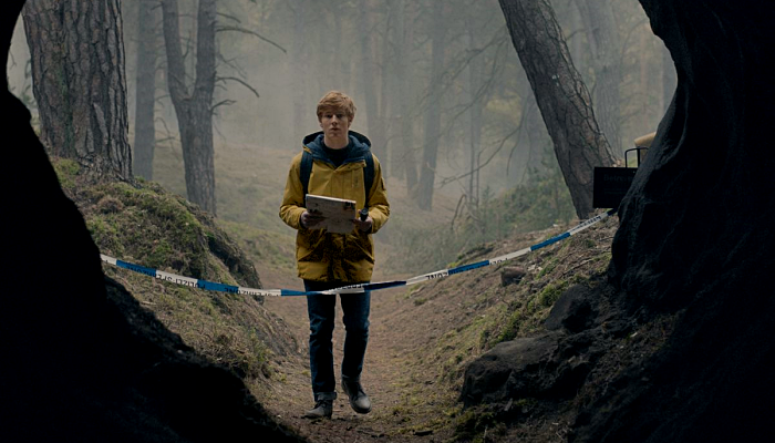 """escena de la serie """"Dark"""""""