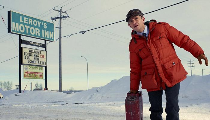 """escena de la serie """"Fargo"""""""