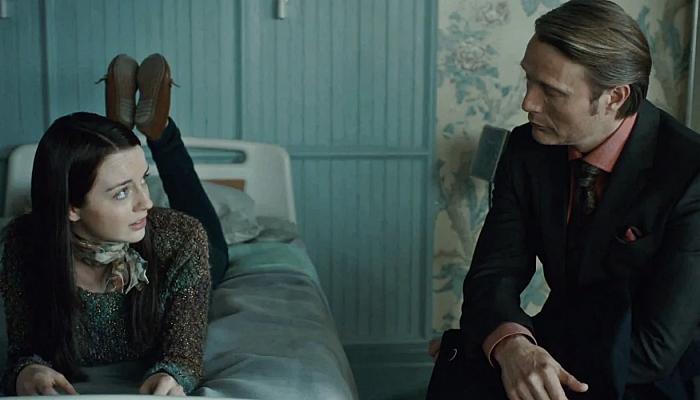 """escena de la serie """"Hannibal"""""""