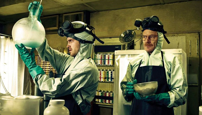 "escena de la serie ""Breaking Bad"""