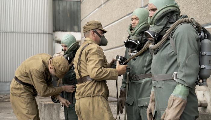 """escena de la serie """"Chernobyl"""""""