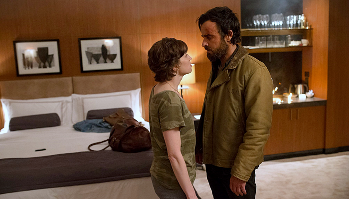 "escena de la serie ""The Leftovers"""