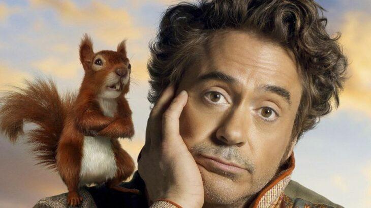 Robert Downey Jr en la película Las Aventuras del doctor dolittle