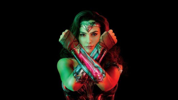 Escena de wonder woman en la que se ve a la superheroína luchando