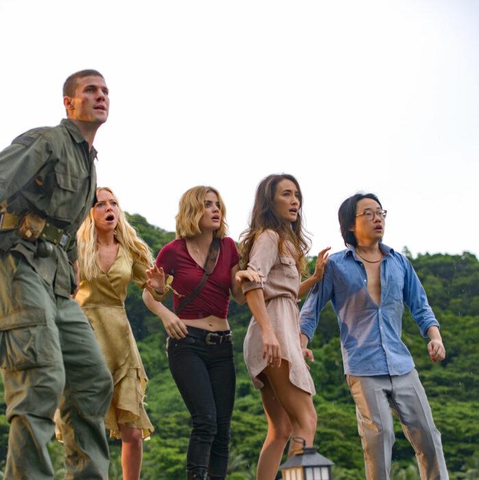 Escena de la película Isla de la fantasía