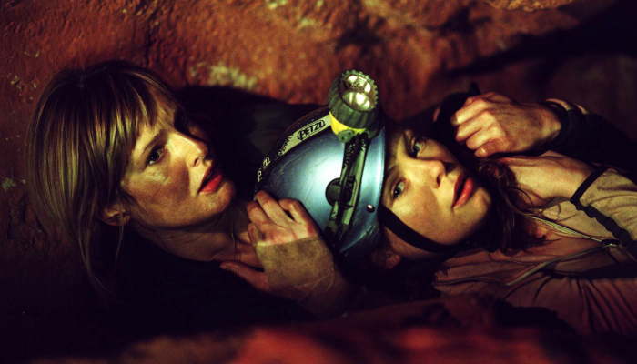 """escena de película """"El descenso"""""""