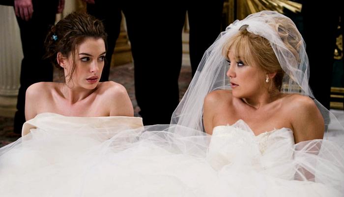 escena de Guerra de novias