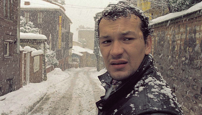 "escena de película ""Uzak"""