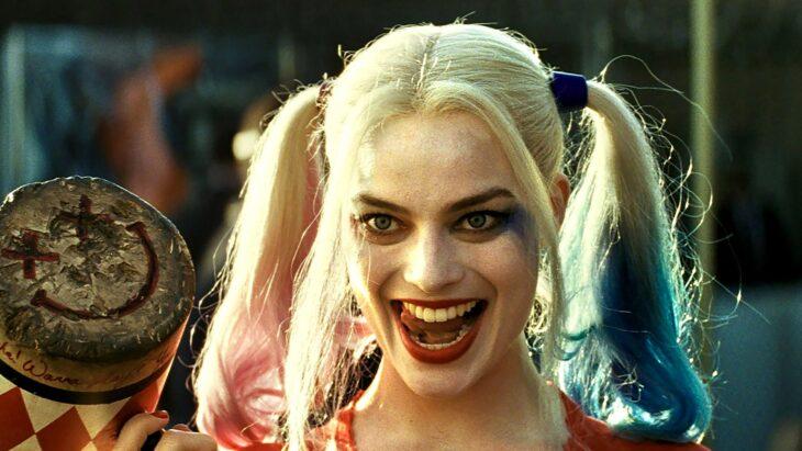 Harley Queen en la película el escuadrón suicida