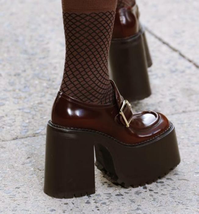 zapatos, botines, botas, zapatillas, mary janes de tacón con tacón grueso ancho como zapatos de bratz