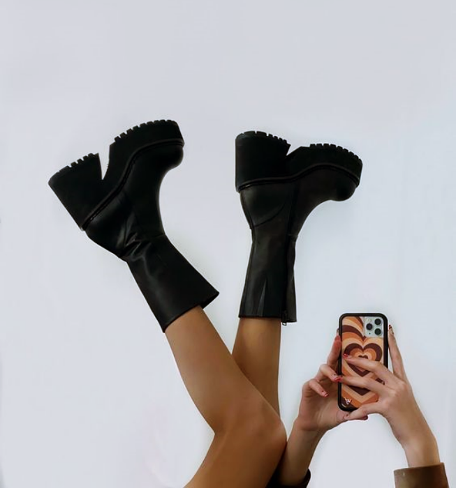shoes, booties, boots, sneakers, mary janes high heel with wide chunky heel like bratz shoes
