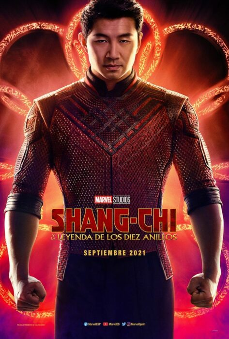 Poster oficial de Shang Chi y la leyenda de los diez anillos