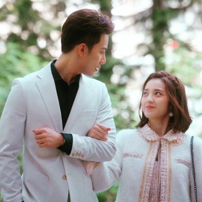 Escena del drama chino Mi novia es un alíen