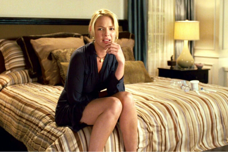 Katherine Heigl para la película:Ligeramente embarazada; 15 Celebridades que se dicen arrepentidas de los papeles que han tomado