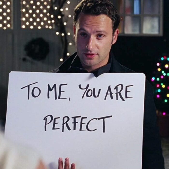 Andrew Lincoln para la película:Love Actually; 15 Celebridades que se dicen arrepentidas de los papeles que han tomado