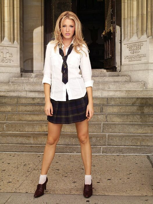 Blake Lively  para la serie:Gossip Girl; 15 Celebridades que se dicen arrepentidas de los papeles que han tomado