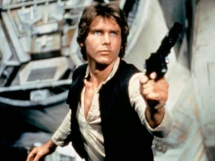 Harrison Ford  para la película:Star Wars; 15 Celebridades que se dicen arrepentidas de los papeles que han tomado