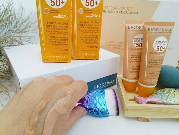 Bioderma Photoderm COVER Touch SPF 50+; 5 tinted sunscreens to protect your skin