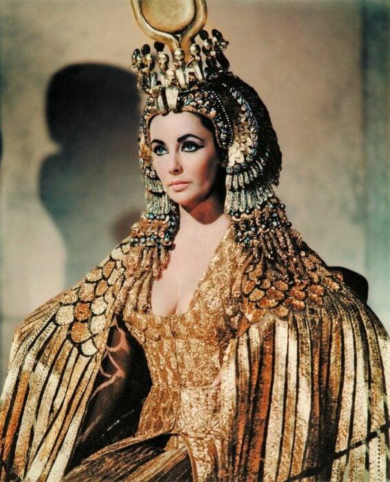 cleopatra vestido elizabeth taylor