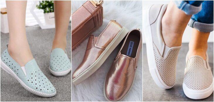 sneakers ventilados; 8 Tipos de zapatos para las que no gustan de usar sandalias