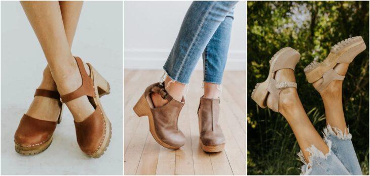 Zapatos tipos clogs; 8 Tipos de zapatos para las que no gustan de usar sandalias