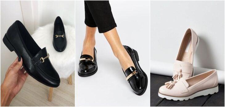 Zapatos tipo mocasín_; 8 Tipos de zapatos para las que no gustan de usar sandalias