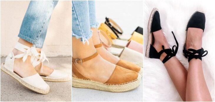 zapatos espardiles; 8 Tipos de zapatos para las que no gustan de usar sandalias