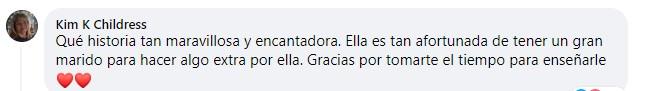 Comentarios en facebook sobre abuelito que aprende a rizar el cabello