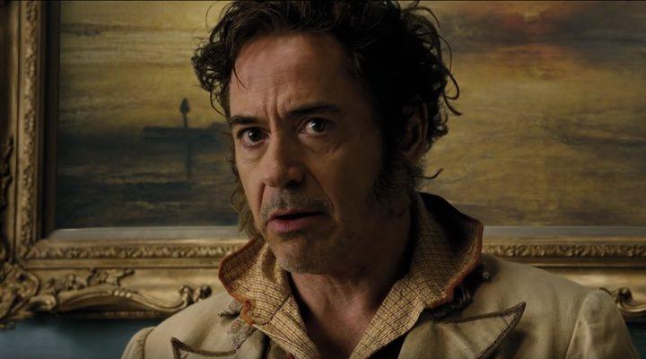 Robert Downey Jr en una escena de la películaDolittle