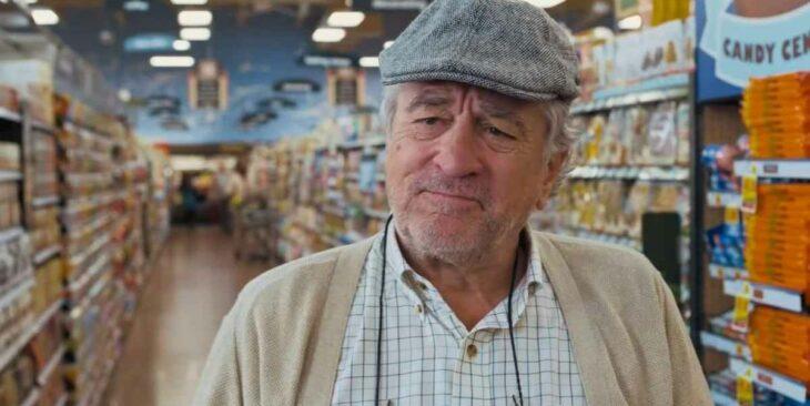 Robert De Niro en la película En guerra con mi abuelo
