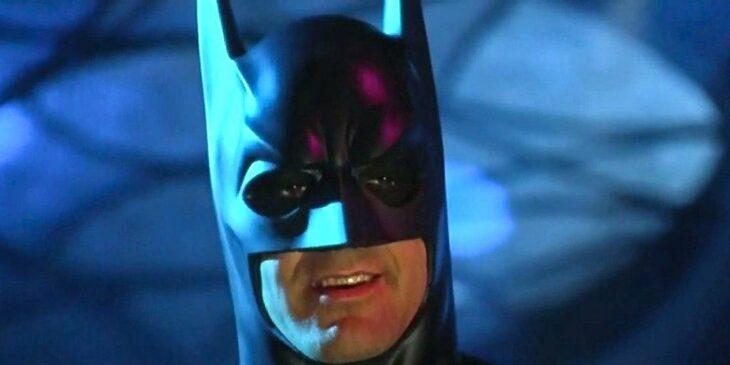 George Clooney en su personaje como Batman