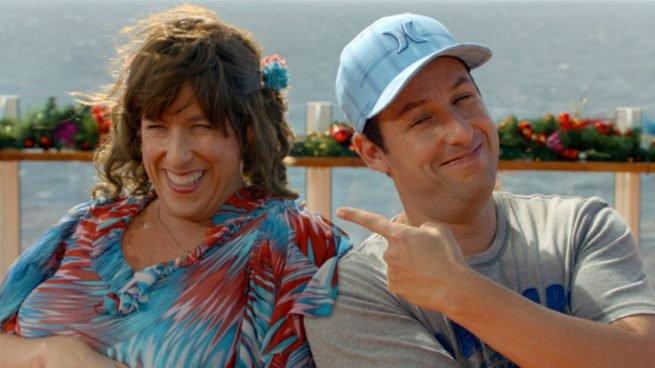 Escena de la película de Jack y Jill de Adam Sandler