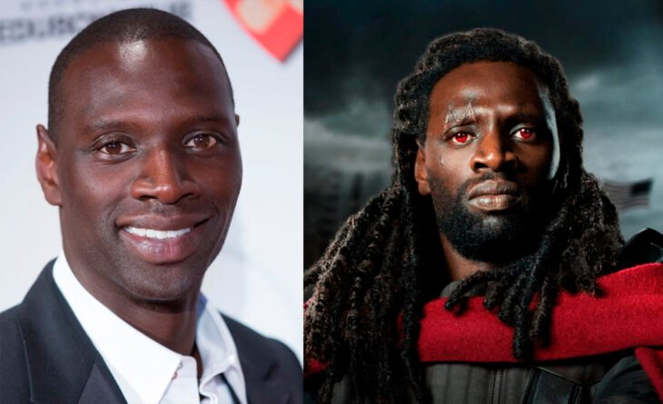 Omar Sy en el papel de bishop en xmen vs como se ve realmente