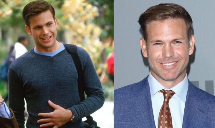 Antes y después de Matthew Davis en la película legalmente rubia