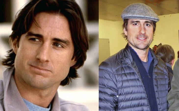 Antes y después de Luke Wilson en la película legalmente rubia