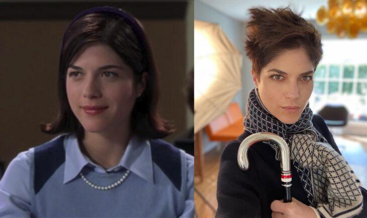 Antes y después de Selma Blair en la película legalmente rubia