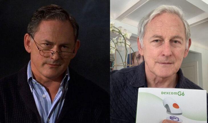 Antes y después de Victor Garber en la película legalmente rubia