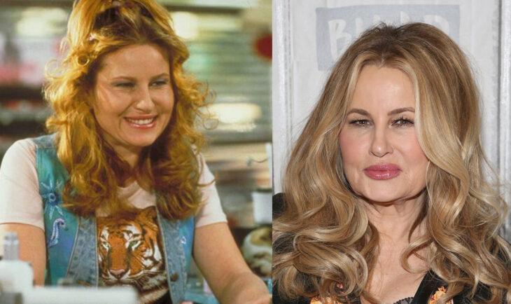 Antes y después de Jennifer Coolidg en la película Legalmente Rubia