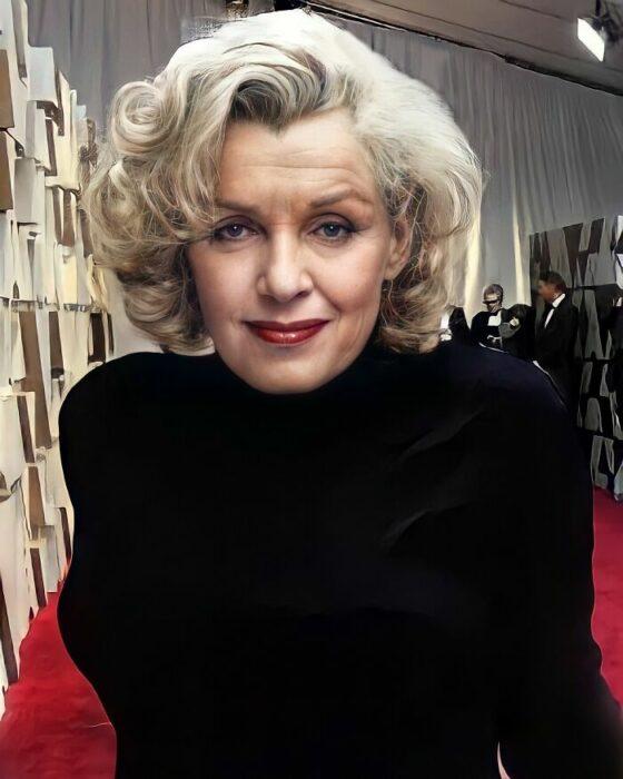 Marilyn Monroe  si viviera actualmente