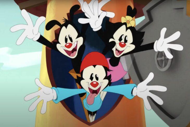 Escena de la caricatura los animaniacs